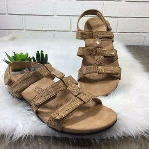 Vionic   Amber Tan Cork Sandals